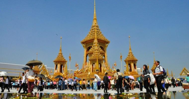 Bangkok. Odkiaľ sa thajský kráľ pobral do neba