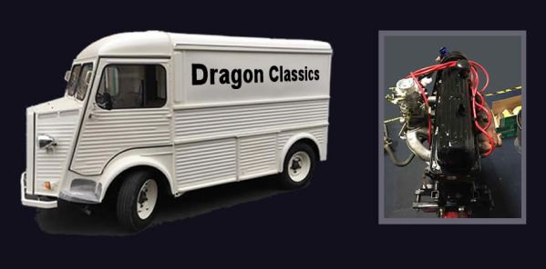 dragon classics - the one stop shop for all things citroën h - uk street  food catering business magazine  street food news