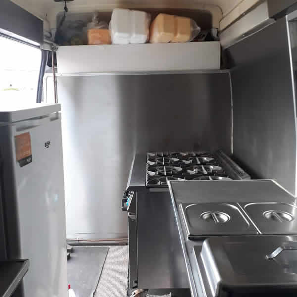 well equipped catering unit