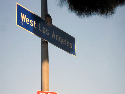 Crip Gangs In The West Los Angeles Section Of LA