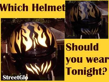 Hi Viz Motorcycle Helmet Stickers Best Helmet - Motorcycle helmet decals stickers
