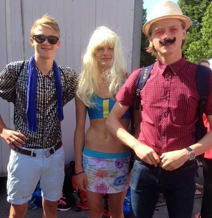 06 Ken - Barbie and the manager - Sweden - Kämpinge GF - Toy Store - World Gymnaestrada Helsinki 2015