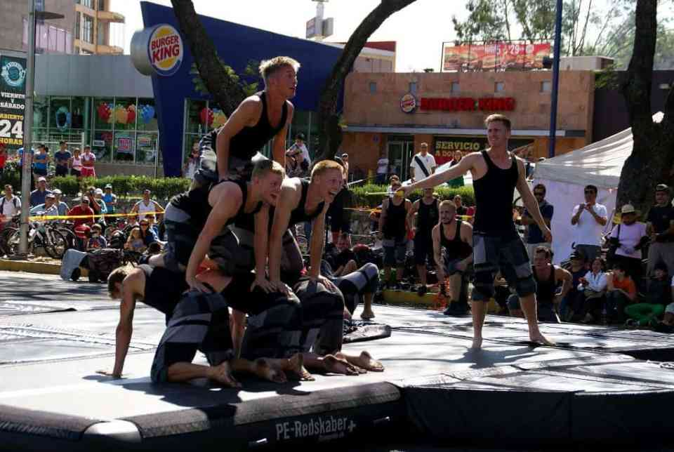 86 Street Gymnastics Performance, Mexico, Guadalajara, National Danish Performance Team4