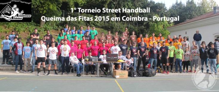 Torneio Street Handball - Queima das Fitas 2015 Coimbra Portugal Académica Andebol