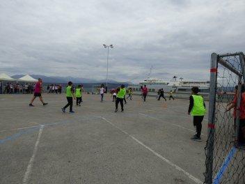 369 2018 Greece, 1st Street Handball Tournament Nafplio City Drone Video 12