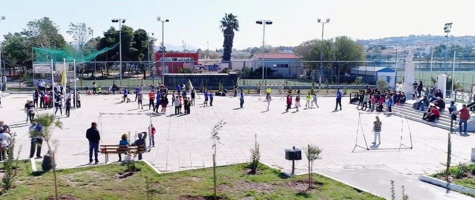 Greece, 1st Street Handball Event with Salamina Handball Club, awesome video from Bill Productions