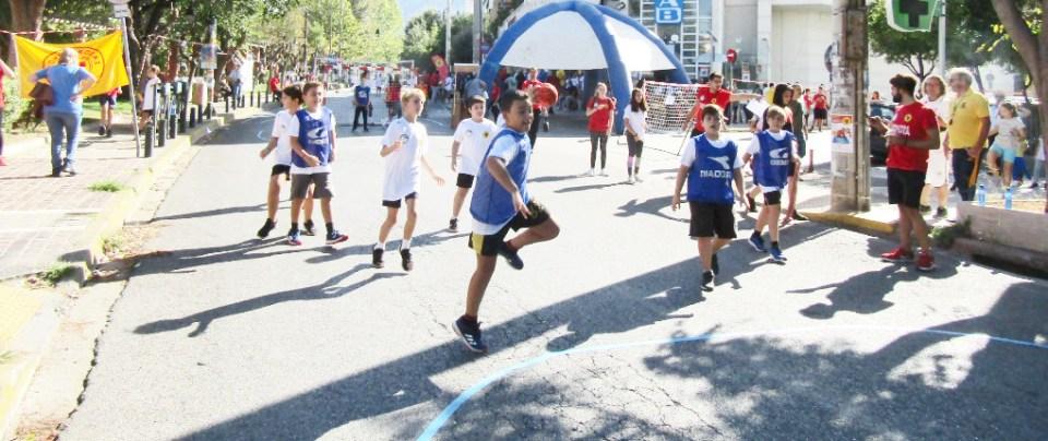 2nd Street Handball in Byron, Athens, Athinaikos Handball Club