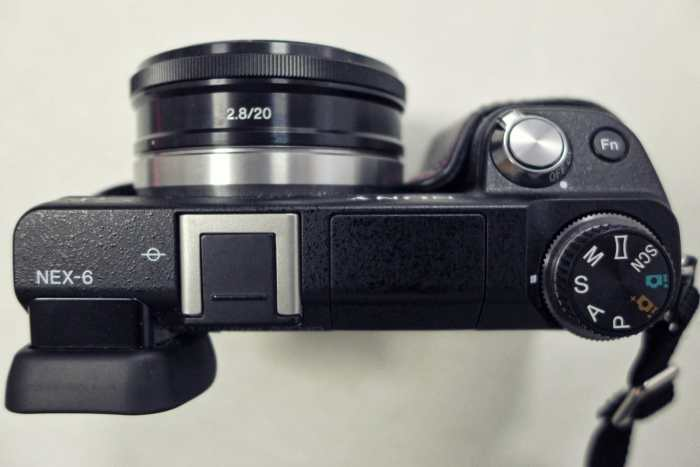 Sony nex6 with wide angle lens