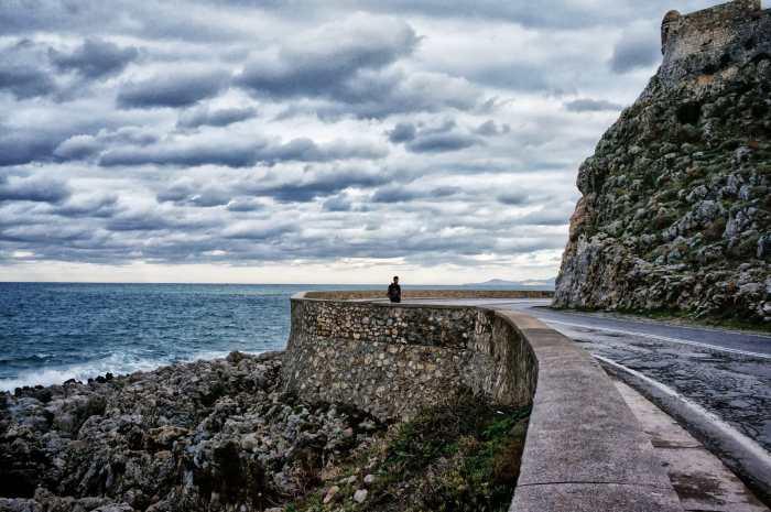 Rethymno peripheral road