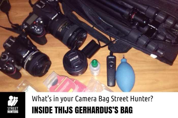 Thijs Gerhardus Camera Bag promo