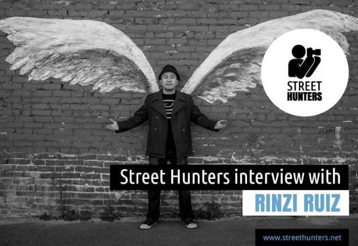 YouTube Interview with Rinzi Ruiz