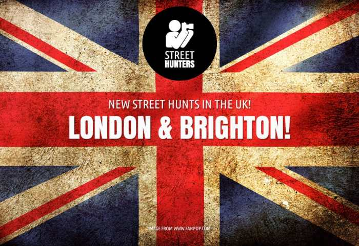 Indiegogo UK StreetHunts