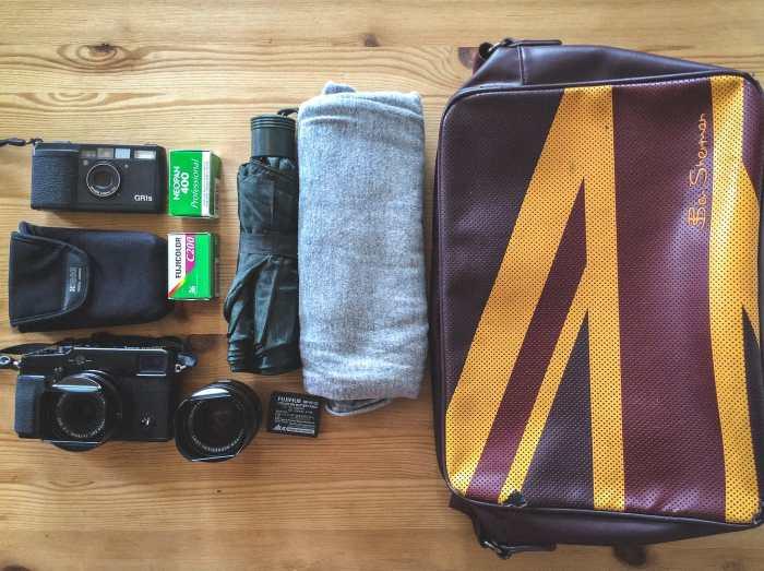 Luigi Caruso's Camera Bag