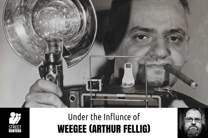 Under the influence of Weegee