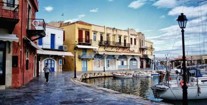 Rethymno Venetian port