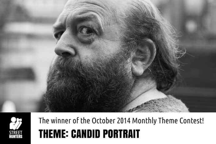 Winner of the Candid Portrait Contest by Roving Eye 365 promo