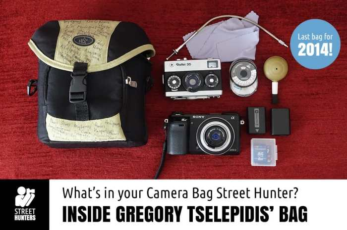 Gregoris Tselepides Camera Bag promo