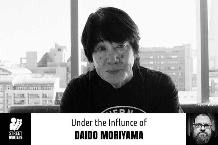 Under The Influence of Daido Moriyama promo
