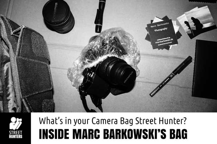 Inside Marc Barkowski's Camera Bag