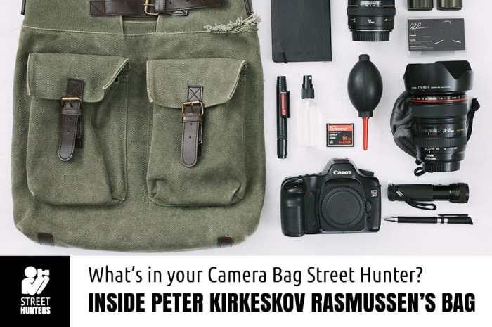 Peter Kirkeskov Rasmussen's Camera Bag