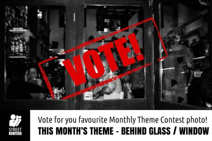 Vote for the Behind Glass Monthly Theme Contest