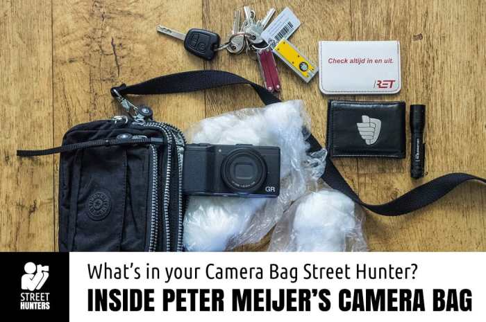 Peter Meijer's camera bag