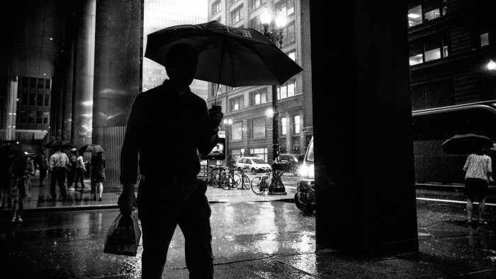 """""""Raining - Chicago, United States"""" by Giuseppe Milo"""