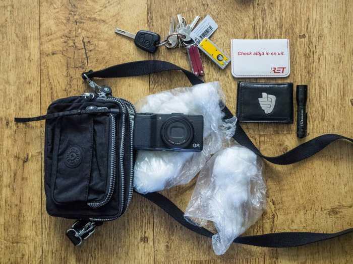 Inside Peter Meijer's camera bag