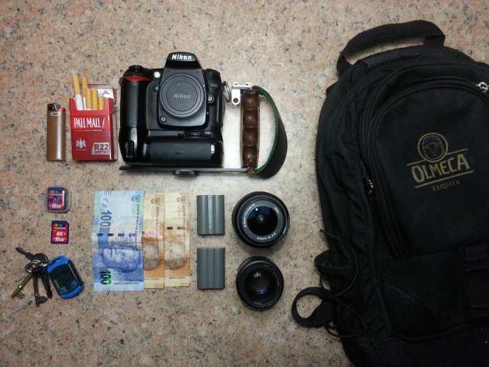Marius Bester's Camera Bag