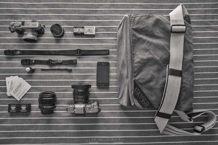 Antonio Toledo Alarcón's Camera bag