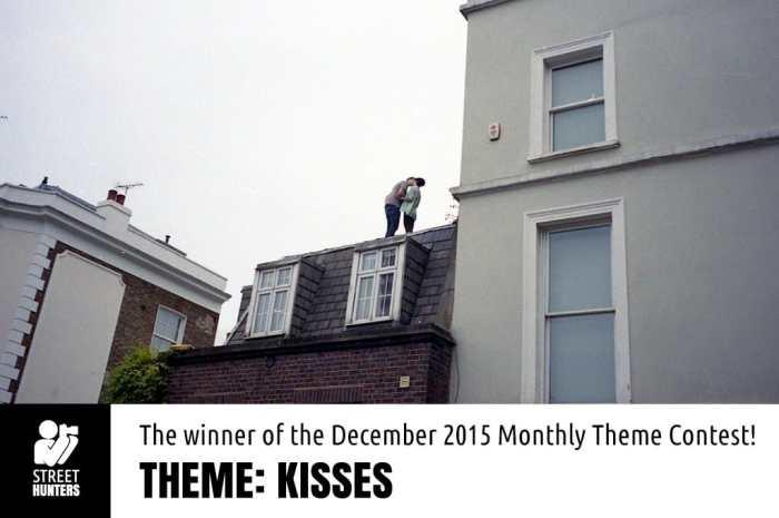 December 2015 winner of the Kisses contest