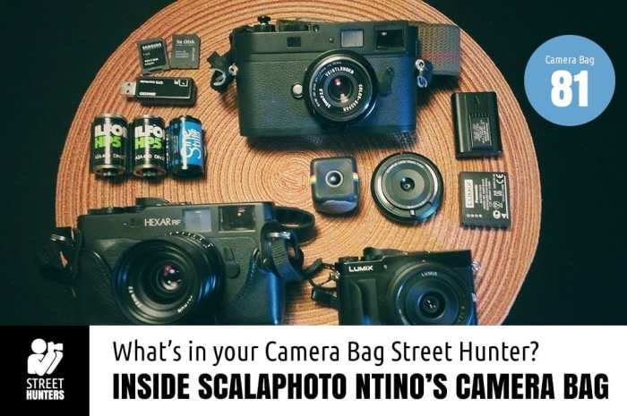 ScalaPhoto Ntino's Camera Bag