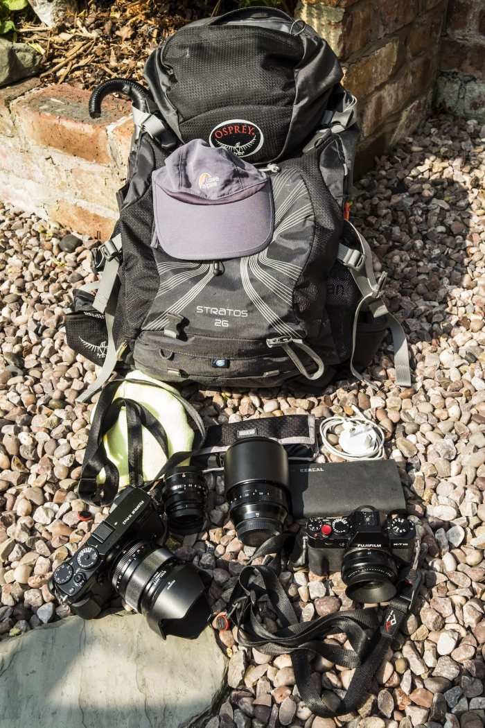 Matt Hart's Camera Bag