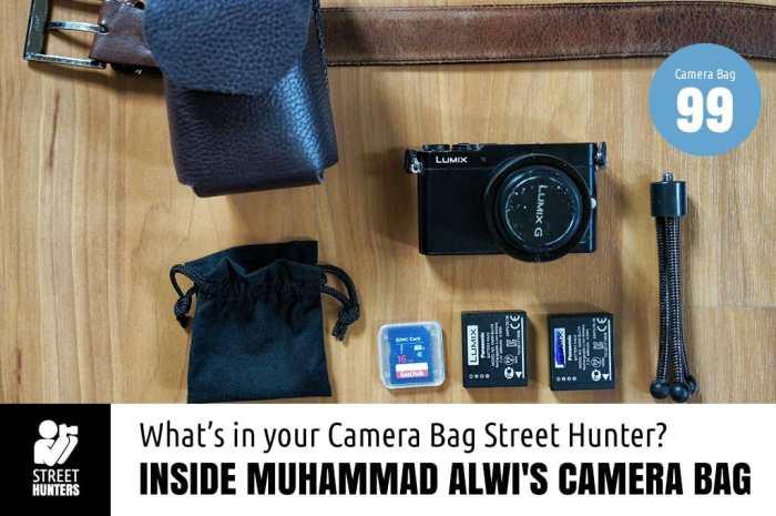 Inside Muhammad Alwi's Camera Bag