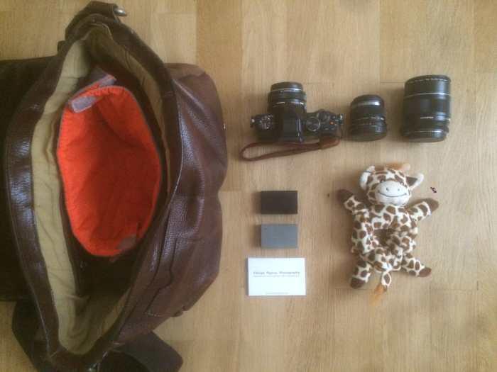 Inside Florian Payrou's Camera Bag