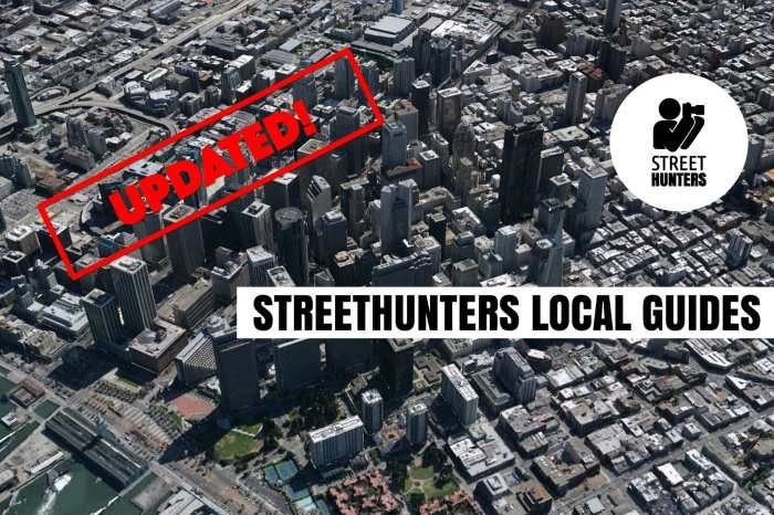 Street Hunters Local Guides Updated