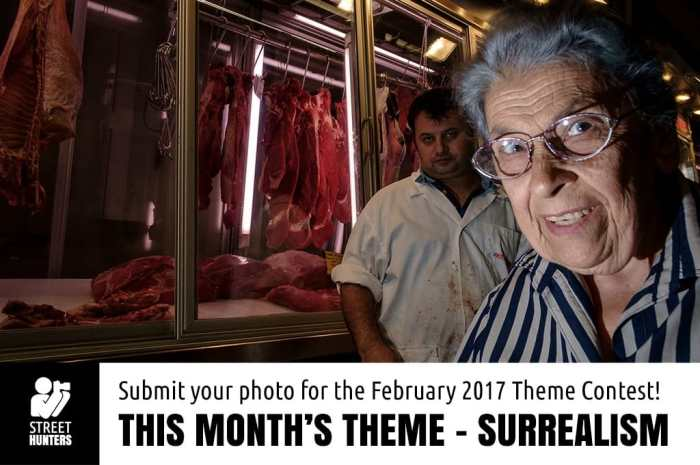 February 2017 street photography contest - Surrealism