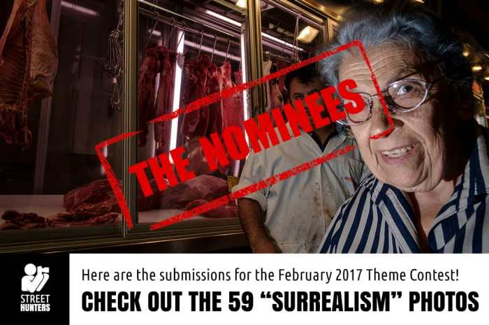 February 2017 Street Photography Contest nominees