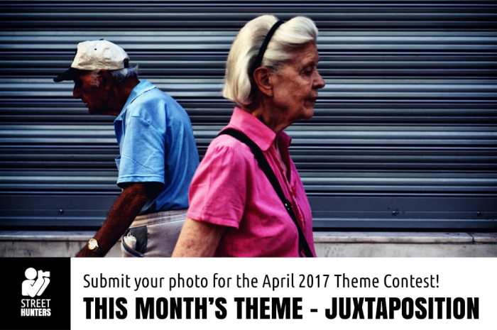 Juxtaposition Monhtly Theme Contest