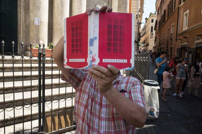 Kristof Vande Velde interview 1 Rome Italy