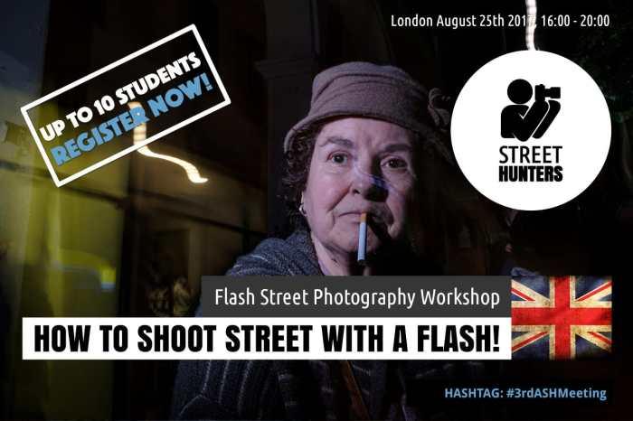 Flash Street Photography Workshop in London