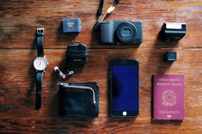 Daniele Martire's Camera Bag