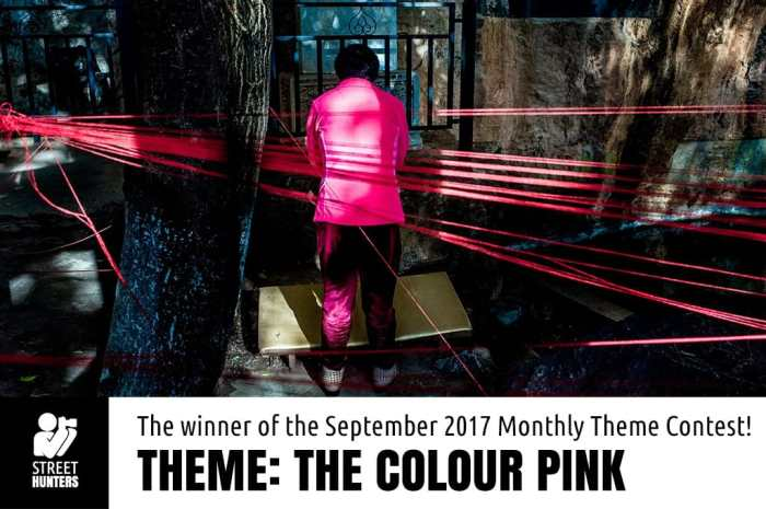 The colour pink winner Tzen Xing
