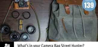 Inside Alexandros Koukoulis Camera Bag