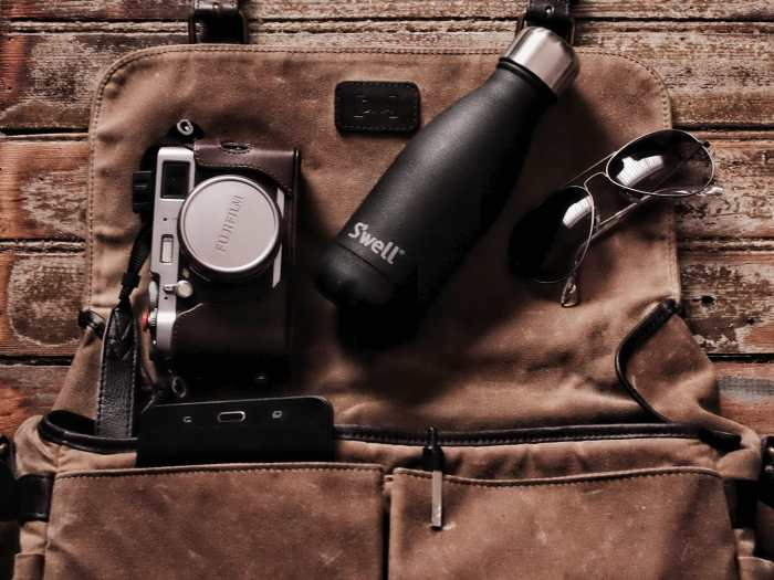 Marcelo de Coghlan's Camera Bag- Bag No. 140