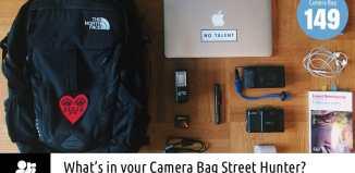 Inside Arnaud Bicand's Camera Bag