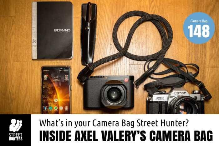 Inside Axel Valery's Camera Bag