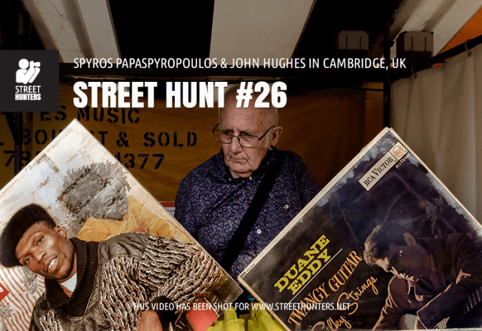 Street Hunt video 26 - Cambridge, UK