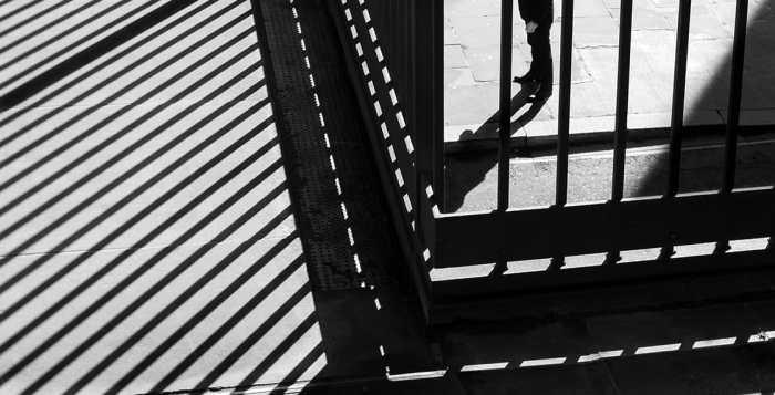 Behind bars by Rupert Vandervell