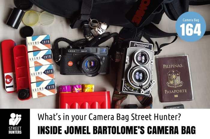 Inside Jomel Bartolome's Camera Bag - Bag No. 164